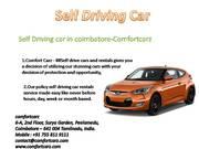 self driving cars in coimbatore
