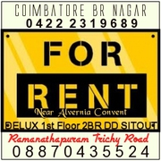 2BHR First Floor Independent House for Rent Trichy Road Coimbatore.