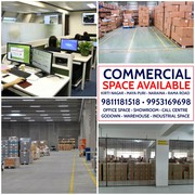 Office Showroom Godown Warehouse Call Centre Industrial Space on Rent